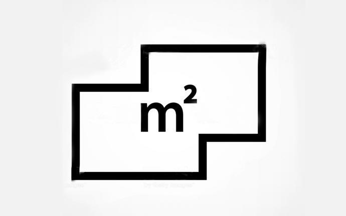 metre kare-işareti